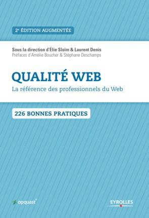 """Livre """"Qualité web"""" d'Opquast"""